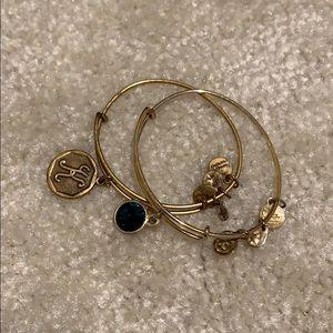 Alex & Ani Bracelet set